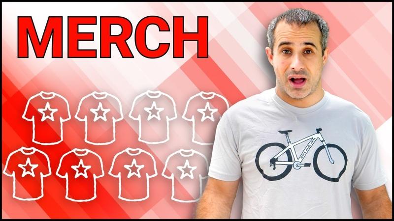 Товары с символикой канала Merchandise | Making Money Beyond Ads ft. Seth's Bike Hacks