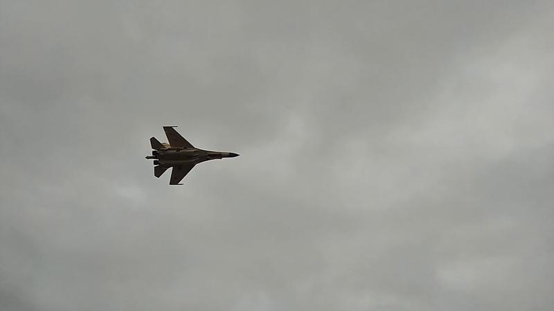 Су-35 тренировка