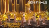 Zurcaroh Aerial Dance Group Spreads Their Wings With Epic Act - America's Got Talent 2018