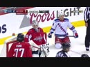 Holtby denies Hayes on breakaway