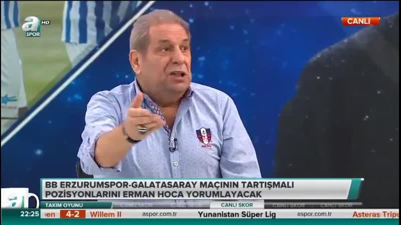 Erzurumspor 1-1 Galatasaray - Galatasaray ve Başakşehirin Şampiyonluk Olasılıkları-