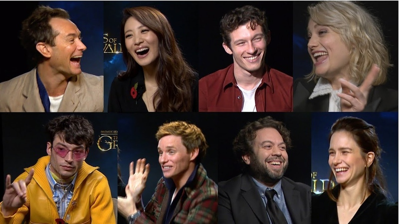 Fantastic Beasts cast reveal their weirdest compliments