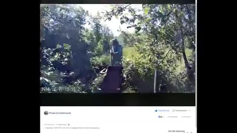Источник клянется, что представленные кадры - не фейк. Украинские военные в Чигирях (лето), переодеваются в местных бабушек