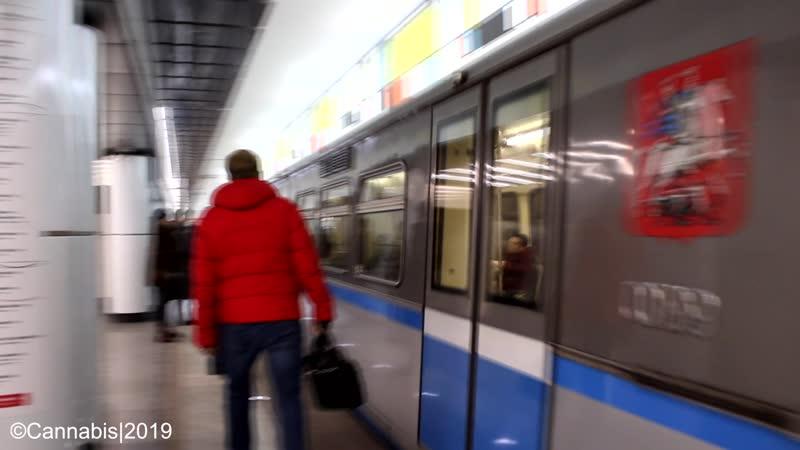 81 740 741 Русич прибывает на станцию Румянцево