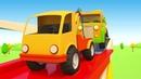 Vehículos de servicio El puente nuevo Dibujo animado en español