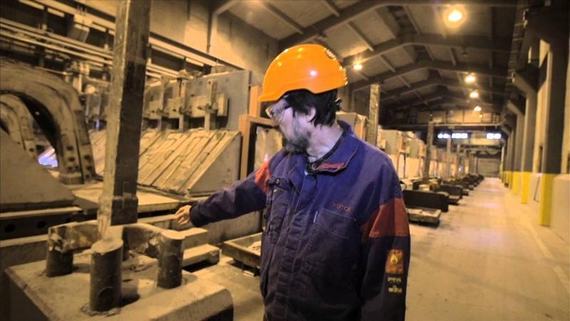 Aluminium-Smelting and Casting