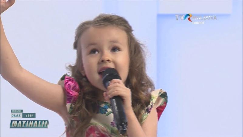 Evelina Rusu singing Lacrima