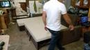 Угловой диван, механизм дельфин. Мебель на заказ Волгоград