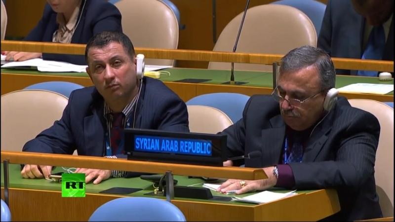 Дарагой брат Эрдоган на 77 сессии Ген Ассамблеи ООН 2018 г