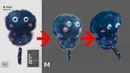 How to Convert 3D Scenes from PSD (Photoshop) file with no 3D experience