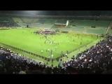 Дичь на стадионе Анжи во время встречи с Хабибом