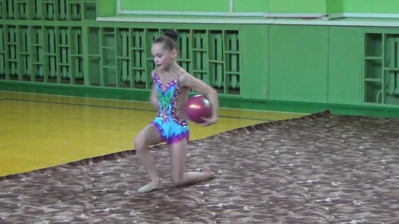 Открытый урок отделения художественной гимнастики спортивного клуба Самбист, 1-ый год обучения