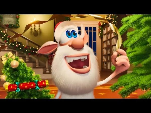 Booba Christmas eve 🎄 Funny cartoons Super ToonsTV