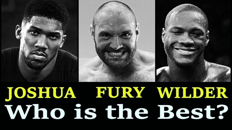 Tyson Fury Says It Would Be A Sin For Himself Joshua And Wilder Not To Fight Each Other.