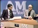 Philippe Halsman talks with Leonard Nimoy (1973)