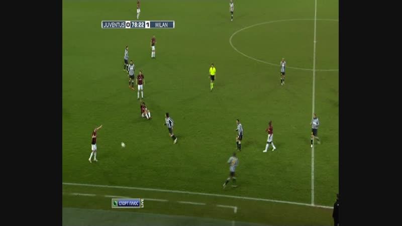 127 - 05.03.2011. Ювентус - Милан 0:1 - 2 тайм
