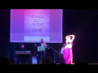 Ржанникова Екатерина. Raks el Nour 2018. Baladi Band. Zael el Assaya