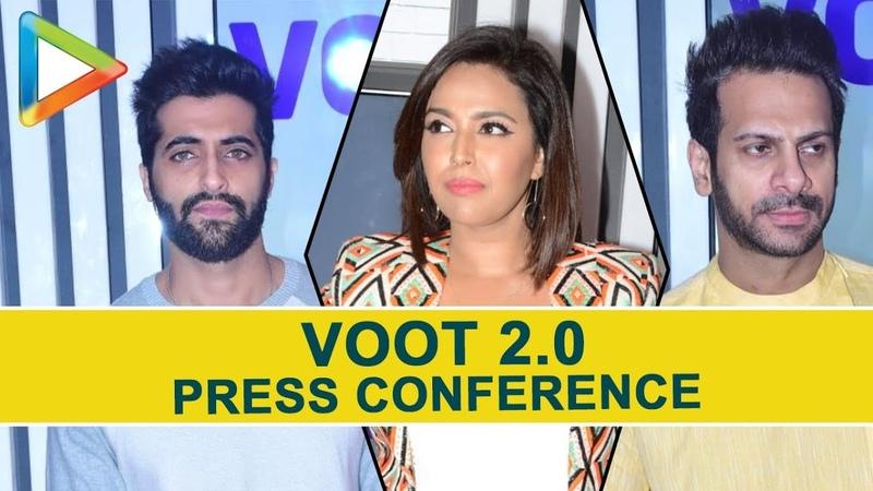Swara Bhaskar Sumeet Vyas at Viacom 10 VOOT 2.0 Press Conference | Part 2