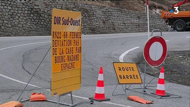Réouverture de la RN 22 à la circulation entre la France et l'Andorre ce vendredi