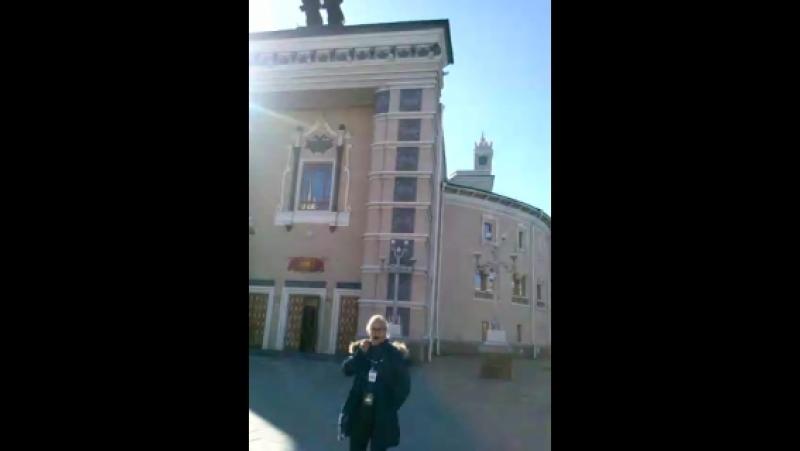 Театр оперы и балета в Улан-Удэ