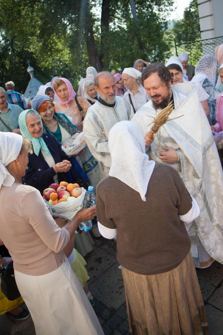Праздник Преображения Господня в храме святых бессребреников Космы и Дамиана в Космодемьянском