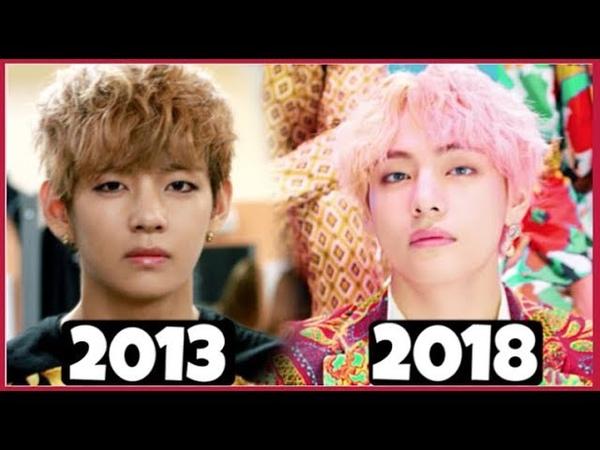 BTS (방탄소년단) KIM TAEHYUNG / V MV EVOLUTION (2013 - 2018) [ NO MORE DREAM - IDOL ]