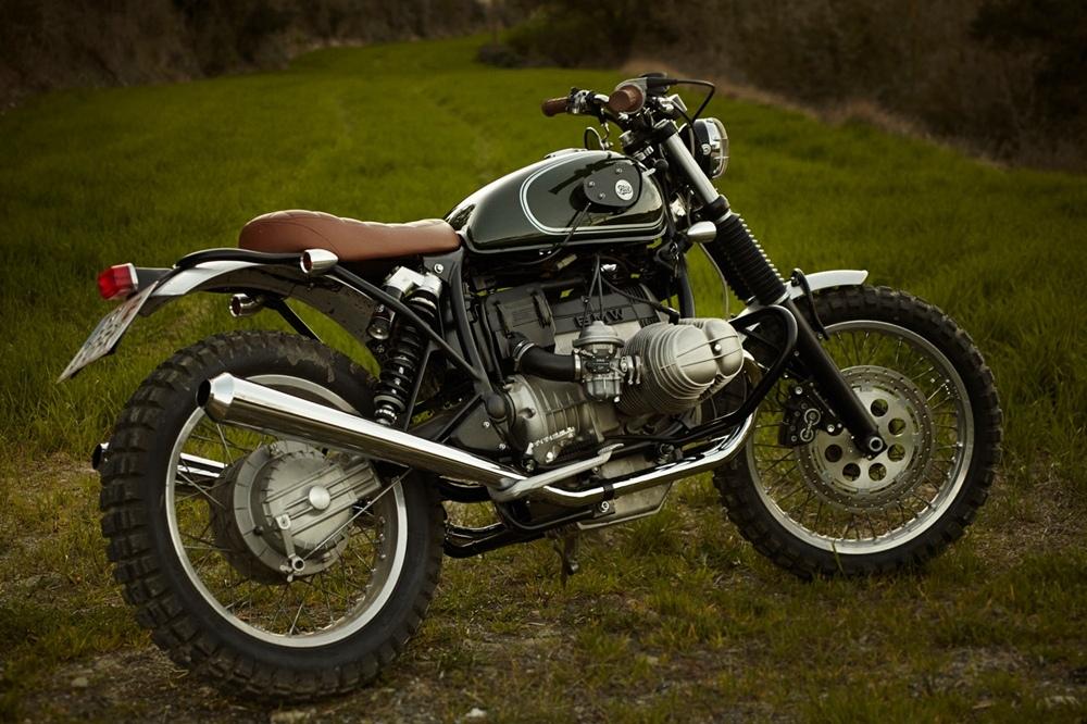 Fuel Bespoke Motorcycles: скрэмблер BMW