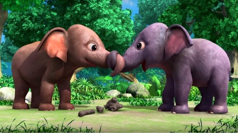 Маугли Книга Джунглей сезон 2 сборник серий 51 52 развивающий мультфильм для детей