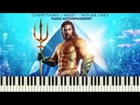 Skylar Grey Everything I Need Aquaman Piano Accompaniment Tutorial Sheets