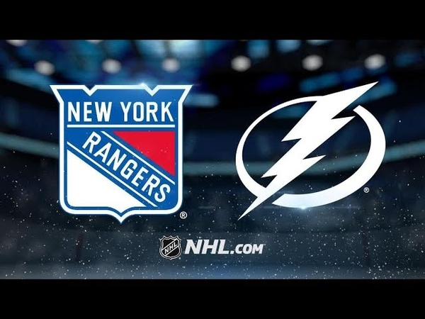 New York Rangers vs Tampa Bay Lightning   Dec.10, 2018