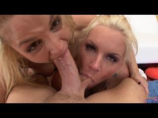 </pron> sarah vandella & phoenix marie [pov, mature, milf, blowjob, anal, порно, зрелая, анал, мамочка, threesome]