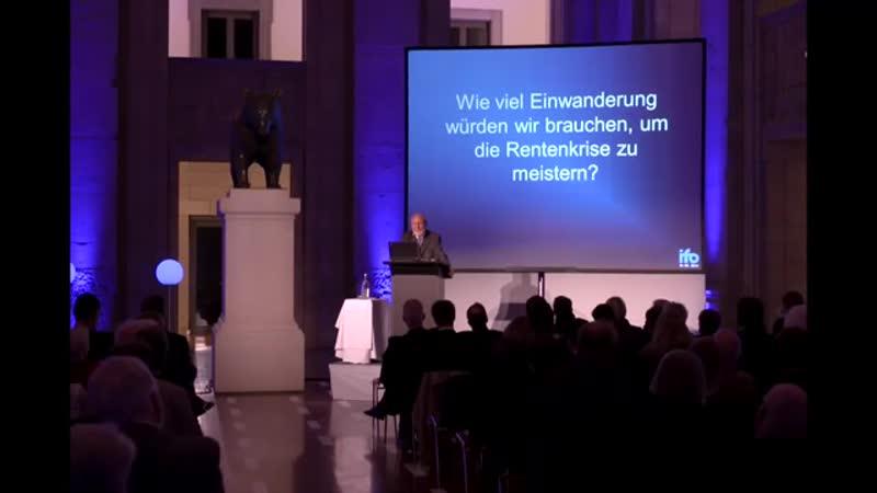 Hans Werner Sinn- 32 Millionen Zuwanderer bis 2035