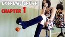 Crush Fetish of Fruits in Platform High Heels Gianmarco Lorenzi Suede Boots Size 37 Chapter 1