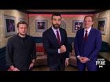 Вечерний Ургант. Пролог – Резо Гигинеишвили и Андрей Бурковский (20.03.2019)