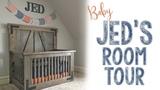 Baby Jed's Nursery Room Tour!
