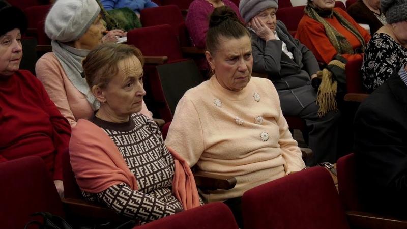 Участниками пленума ветеранов стали активные представители пожилого населения