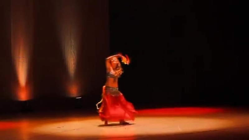 Kalila - Breaking Free (bellydance with ribbons) 23629