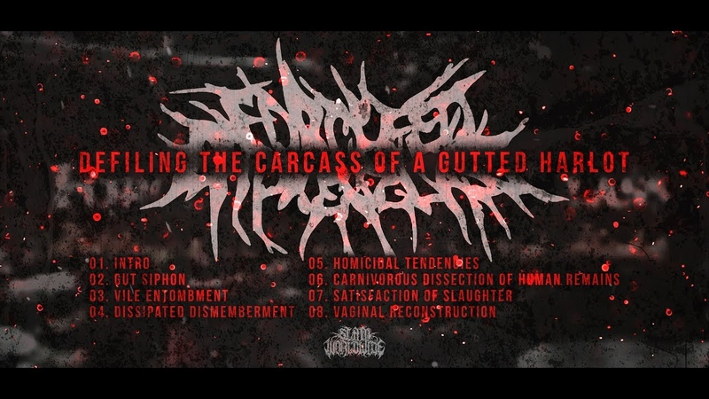 FORCE FED BROKEN GLASS - DEFILING THE CARCASS OF A GUTTED HARLOT [OFFICIAL STREAM] (2008) SW EXCL