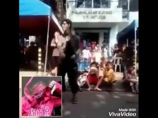 Violation is filipino sign language fuck! Show (MJ ariel)