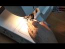 Как сшить трикотажный пояс с петелькой для резинки