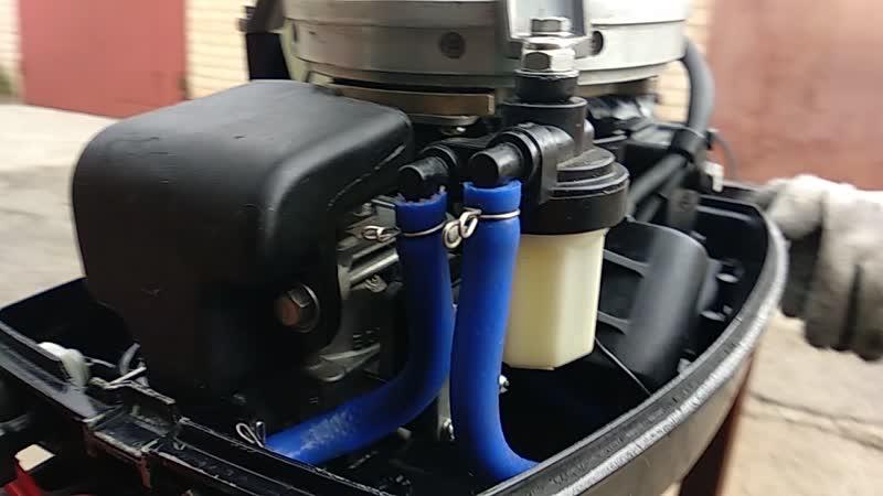 Фильтр от пятнашки на Nissan-marine-9.8