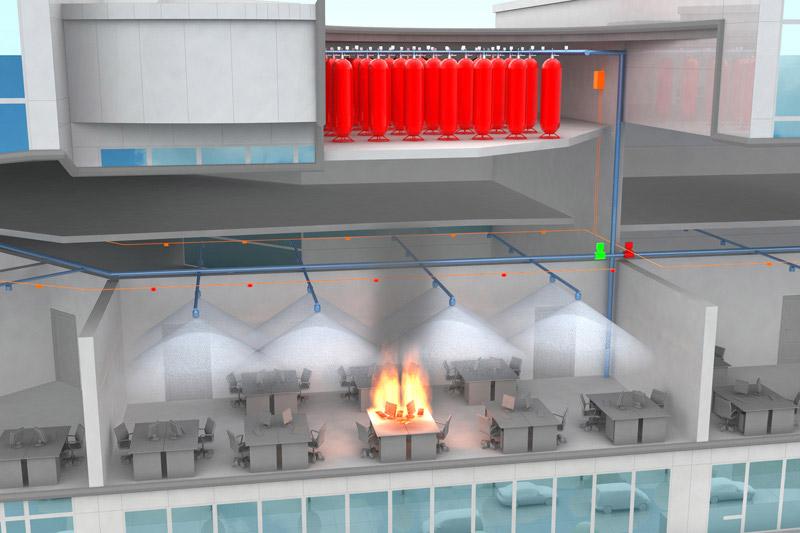 Разбираем основные вопросы технического задания на системы газового пожаротушения