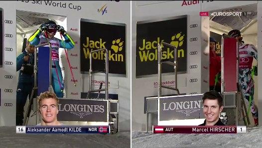 HIRSCHER v KILDE Parallel Slalom Stockholm 31 1 2017 Видео Dailymotion