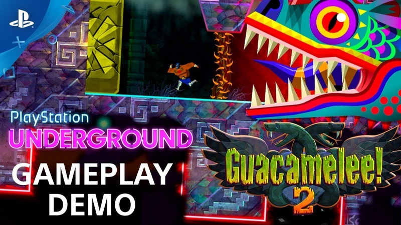 Guacamelee! 2 — геймплей демо-версии