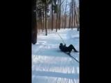 А какой был ваш первый раз на лыжах