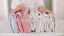 Гладим и складываем простынь на резинке