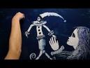 Удивительный ролик Поэма без Героя памяти Аннаы Ахматовой Amazing sand animation