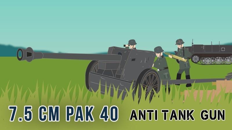 7.5 cm Pak 40 Anti-tank gun (World War II)