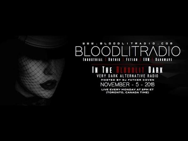 In The Bloodlit Dark! November 5 2018 (Industrial, EBM, Gothic, Synthpop, Darkwave)