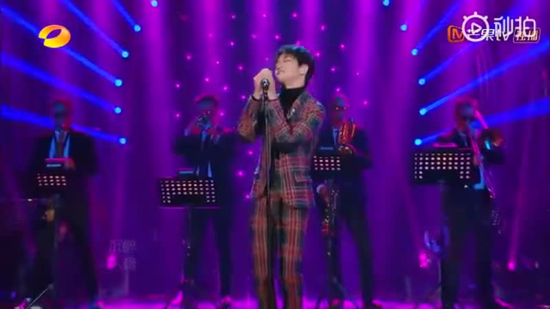 """QianZhenghao performs """"Feeling Good"""" with a Chinese twist on Singer2019! He is now the youngest singer to perform on the show"""